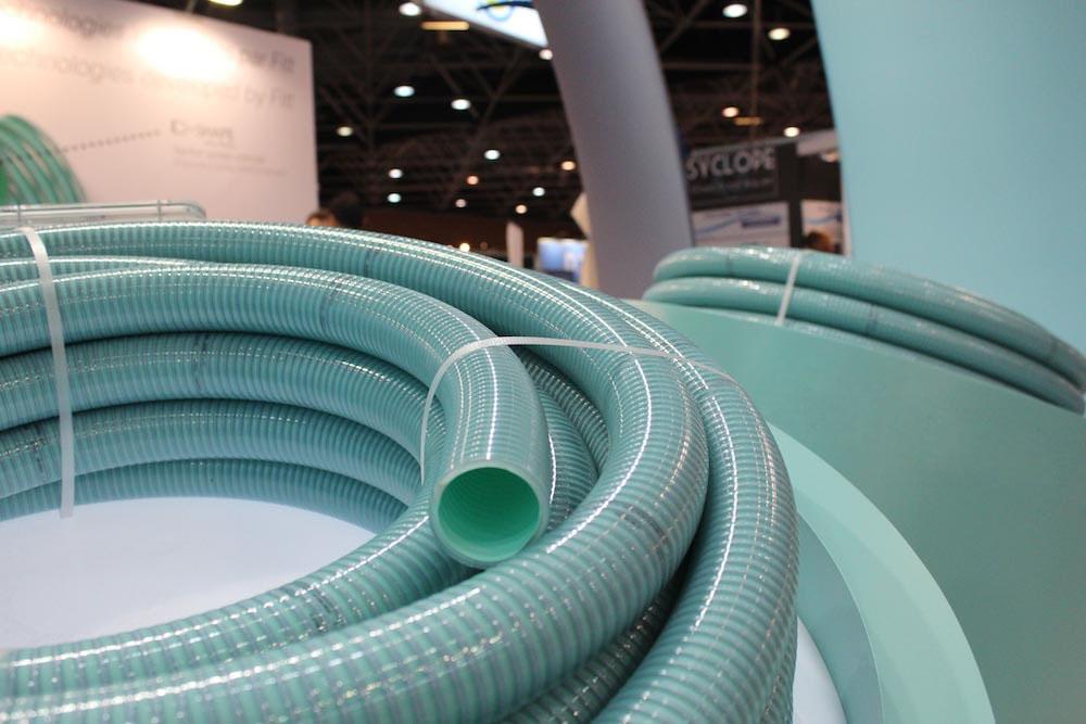 Mangueras de pvc flexible espiral para piscinas enterradas for Manguera para piscina